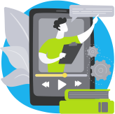 2. Uploading your recorded courses